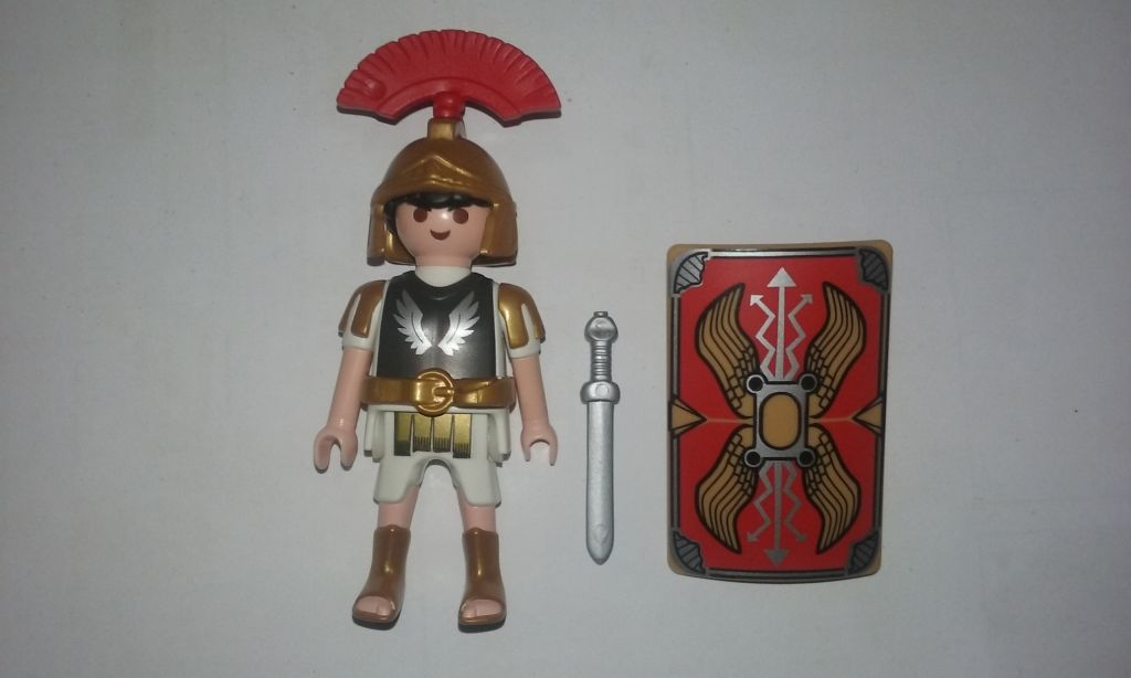 Playmobil 0000 - Roman Centurian - Promotional - Back