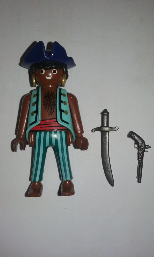 Playmobil 0000 - Pirate - Promotional - Back