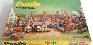 Playmobil - 625-2961 - Puzzle 2x60 Teile