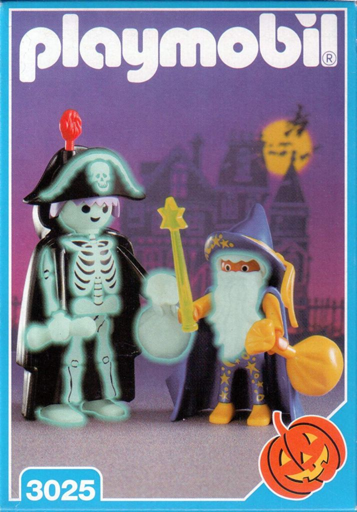 Playmobil 3025 - Skeleton & Wizard Trick-Or-Treaters - Box