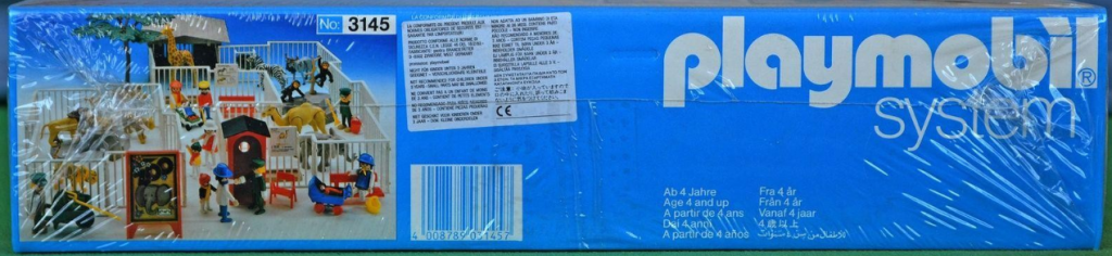 Playmobil 3145v2 - Zoo Safari Set - Box
