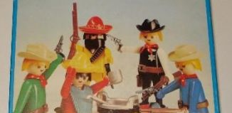 Playmobil - 3241s1v1 - Cowboys and Mexicans
