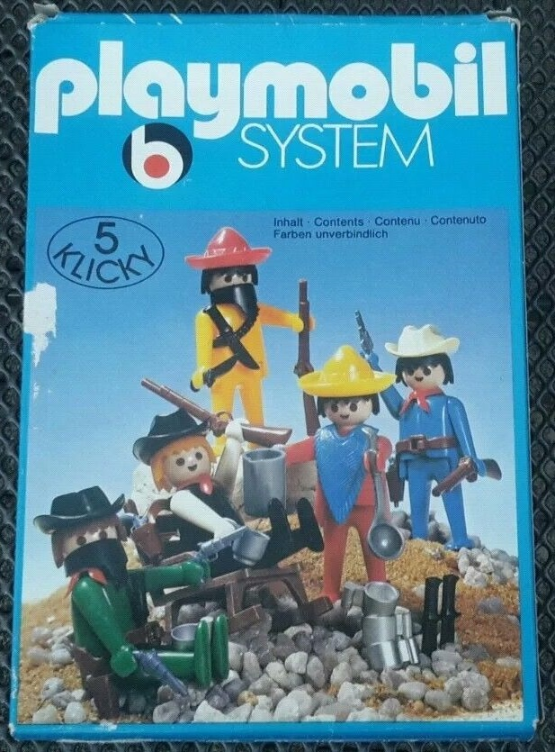 Playmobil 3241s1v2 - Cowboys and Mexicans - Box