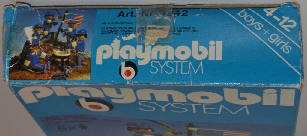Playmobil 3242s1v3 - US Cavalry Set - Box
