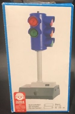 Playmobil 3264 - Electronic Traffic Light - Back