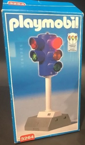 Playmobil 3264 - Electronic Traffic Light - Box