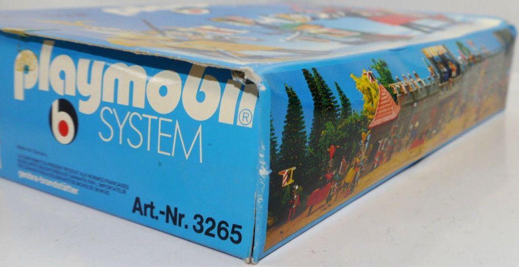 Playmobil 3265s2v2 - Tournament Knights - Box