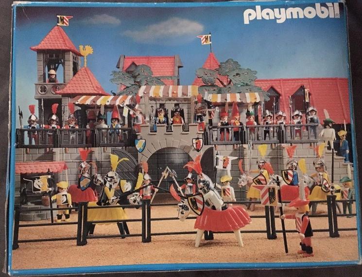 Playmobil 3265s2v4 - Knights game - Back