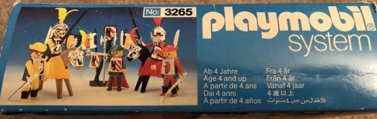 Playmobil 3265s2v4 - Knights game - Box