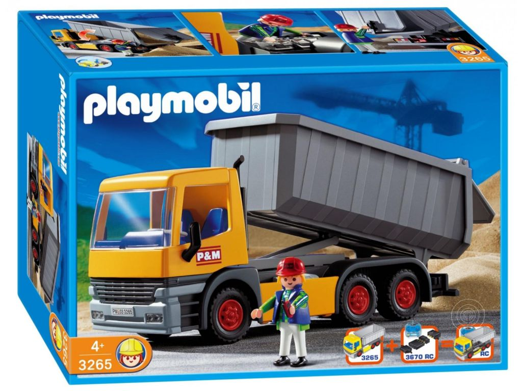 Playmobil 3265s3 - Dump Truck - Box