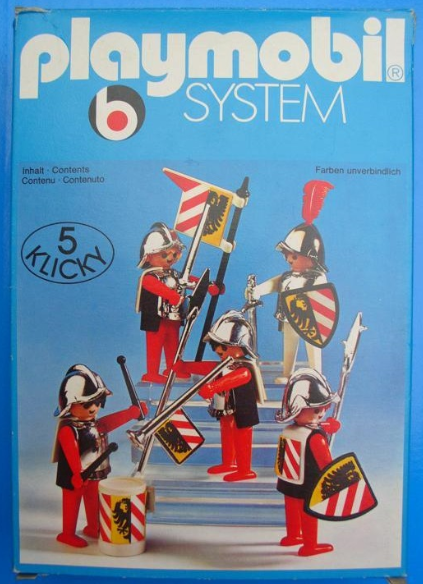 Playmobil 3291v1 - Guards - Box