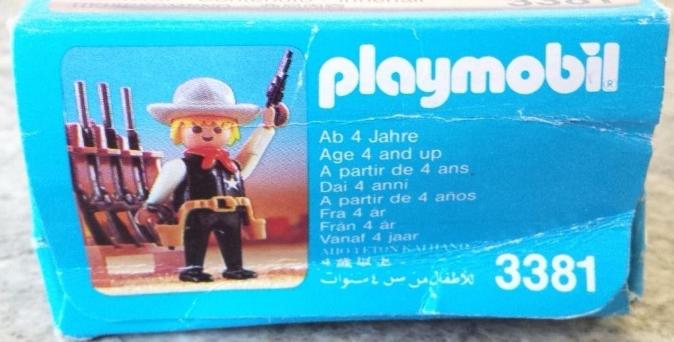 Playmobil 3381v3 - Sheriff - Box