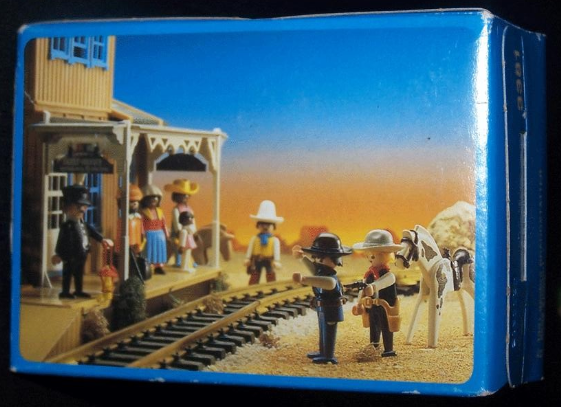 Playmobil 3381v3 - Sheriff - Back