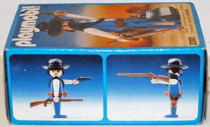 Playmobil 3383v2 - Bandit - Box