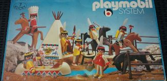 Playmobil - 3406v1 - Indian Camp