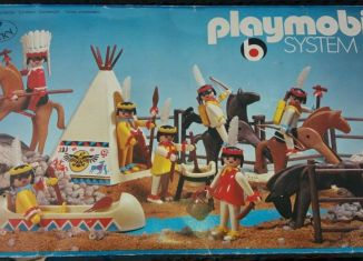 Playmobil - 3406v1 - Indian Camp