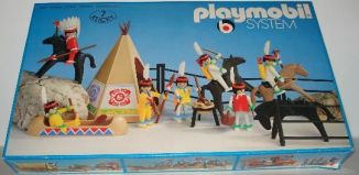 Playmobil - 3406v2 - Indian camp