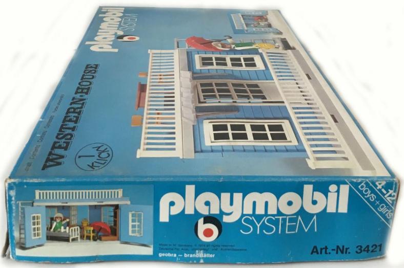 Playmobil 3421 - Western-House - Box