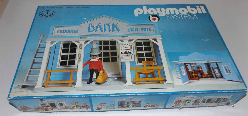 Playmobil 3422 - Bank - Box