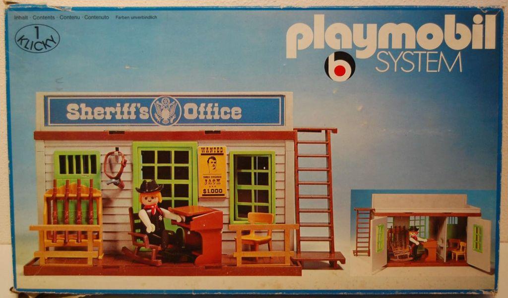 Playmobil 3423v1 - Sheriff's Office - Box