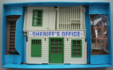 Playmobil 3423v4 - Sheriff's Office - Back