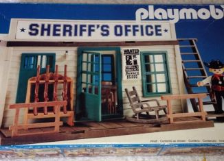 Playmobil - 3423v4 - Sheriff's Office