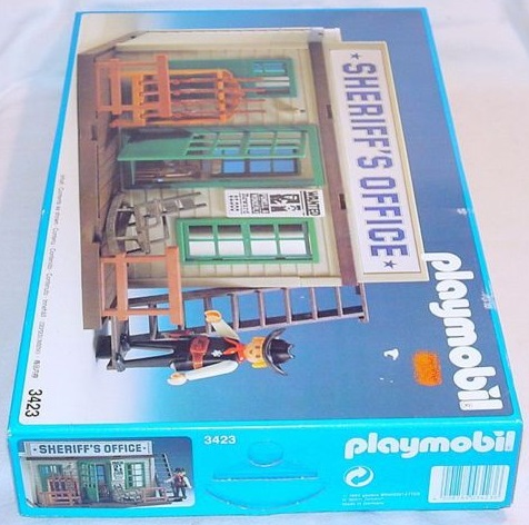 Playmobil 3423v5 - Sheriff's Office - Box