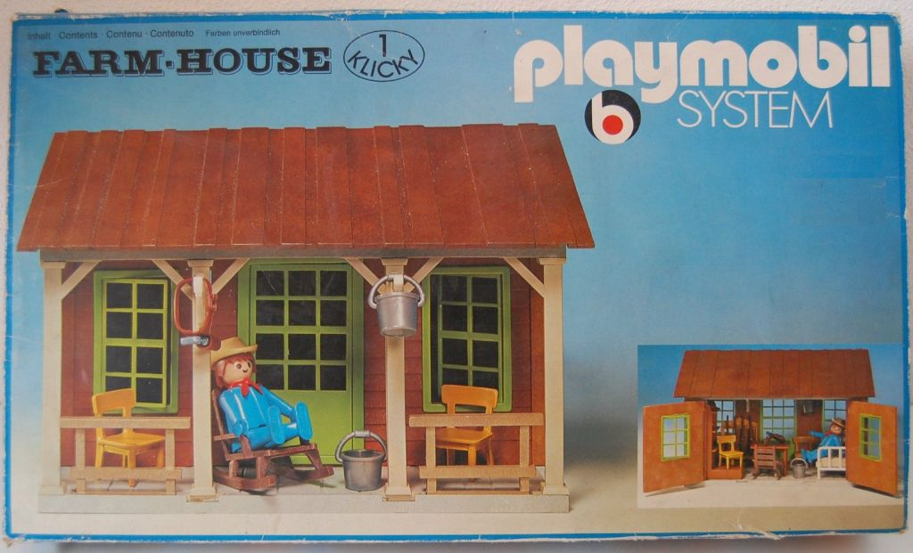 Playmobil 3427 - Farm House - Box