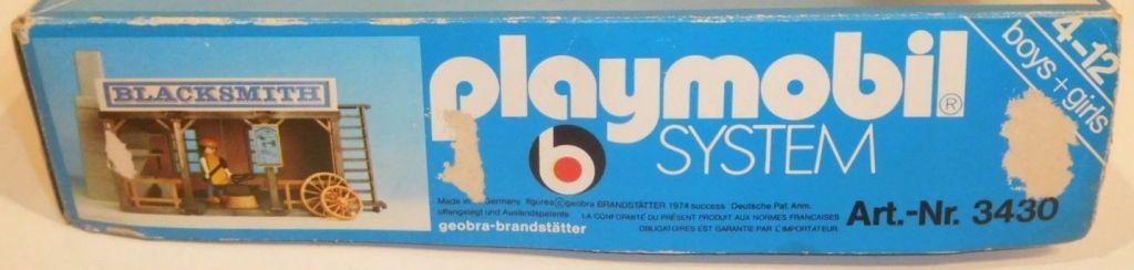 Playmobil 3430 - Blacksmith - Box