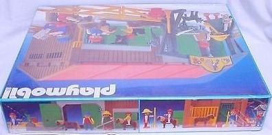 Playmobil 3436v1 - Riding School - Back
