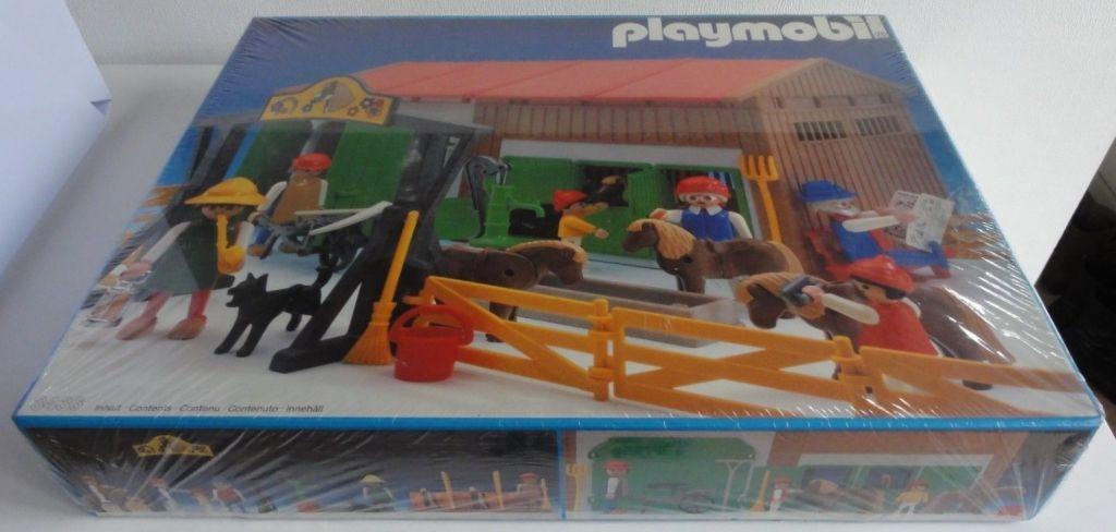 Playmobil 3436v1 - Riding School - Box