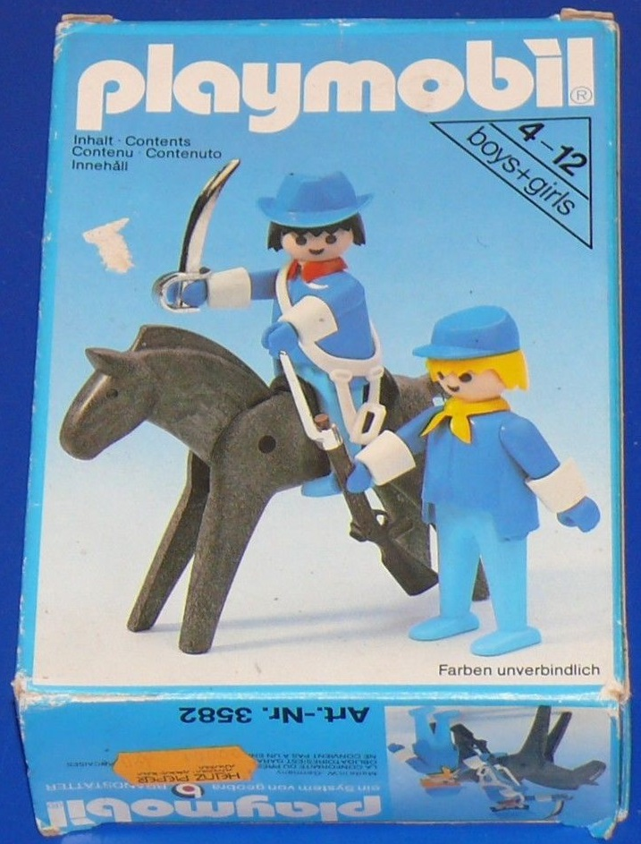 Playmobil 3582v1 - Union officer and soldier - Box