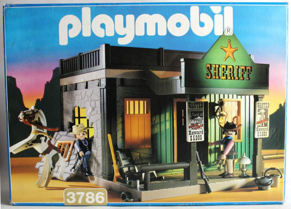 Playmobil 3786 - Sheriff's Office - Box