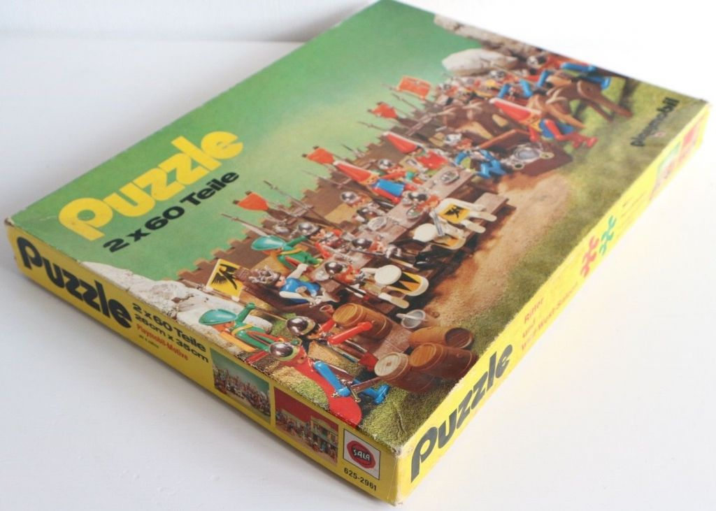 Playmobil 625-2961 - Puzzle 2x60 Teile - Box