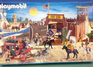 Playmobil - 4072 - Fort Reno