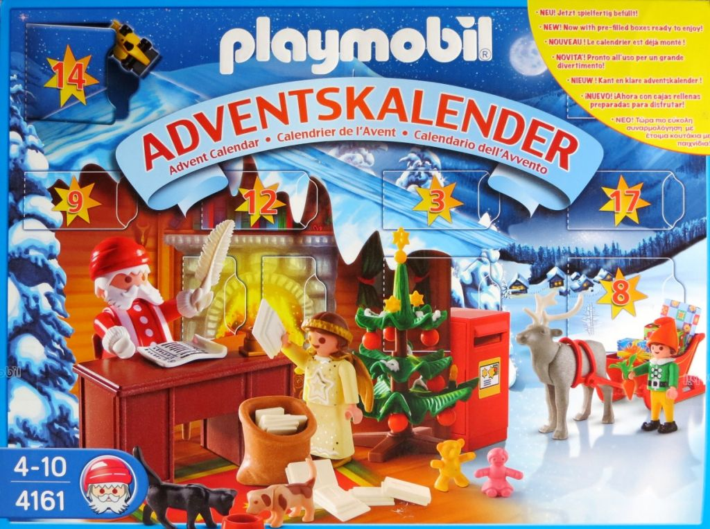 Playmobil 4161 - Advent Calendar 'Christmas Post Office' - Box