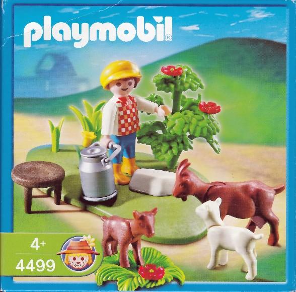 Playmobil 4499 - Goat Pasture - Box