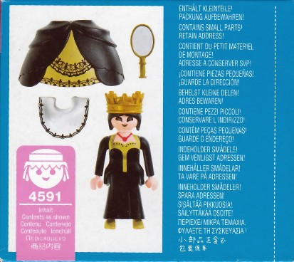 Playmobil 4591 - Black Queen - Back