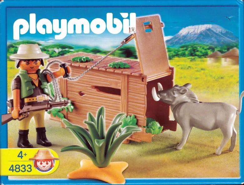 Playmobil 4833 - Ranger with Warthog - Box