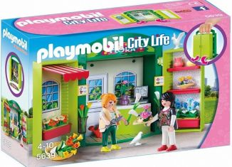Playmobil - 5639 - Play Box Flower Shop
