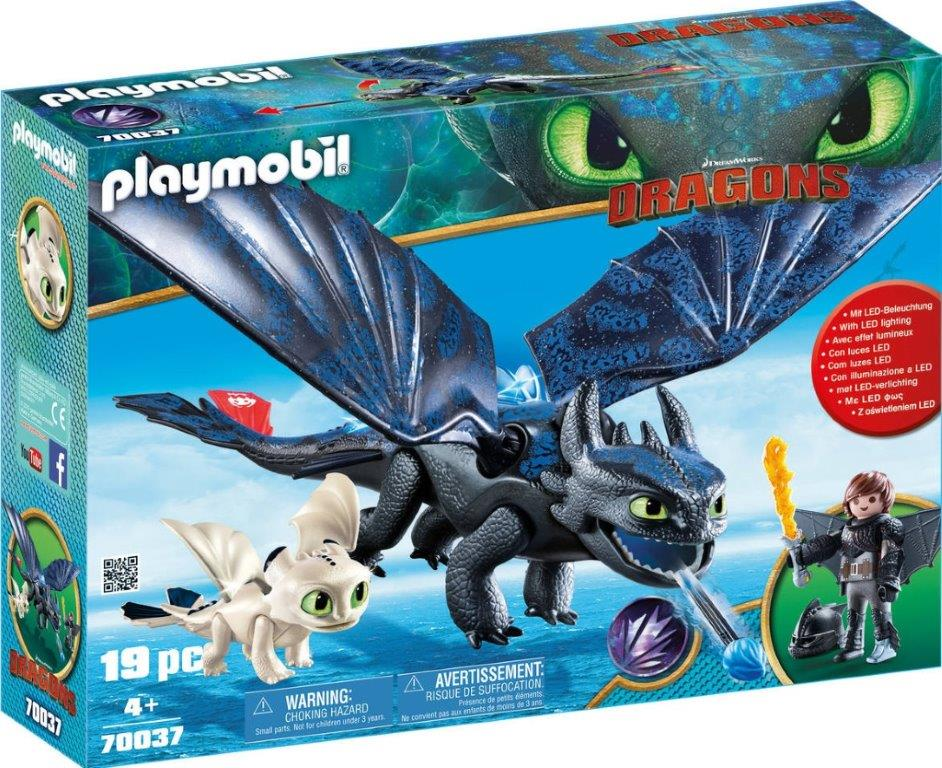 Playmobil 70037-usa - Hiccup and Toothless Playset - Box