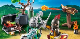 Playmobil - 70036 - Fight for the Treasure of Knight