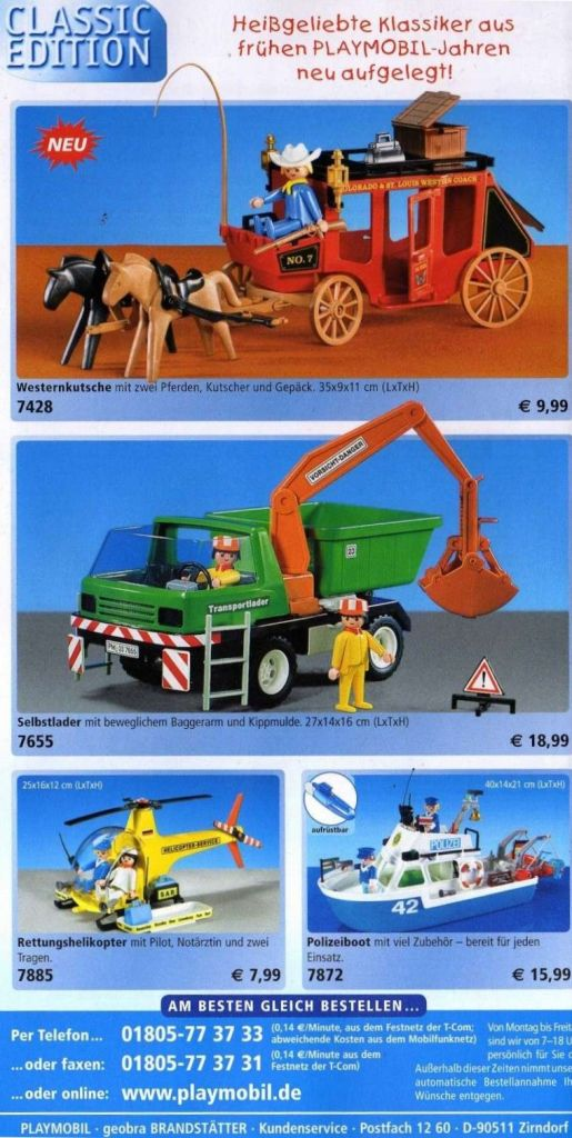 Playmobil 7885 - Classic Helicopter - Back
