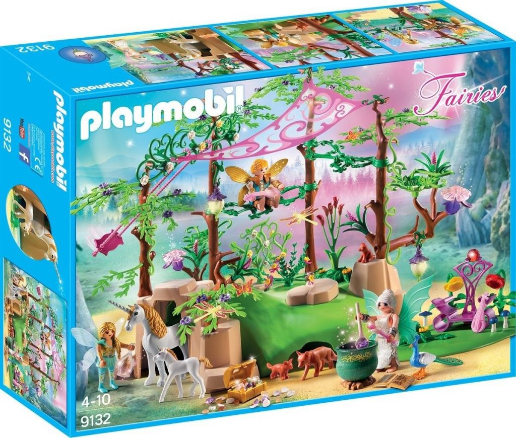 Playmobil 9132 - Magical fairy forest - Box
