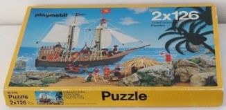 Playmobil - 91376 - 2x126 Teille Puzzles