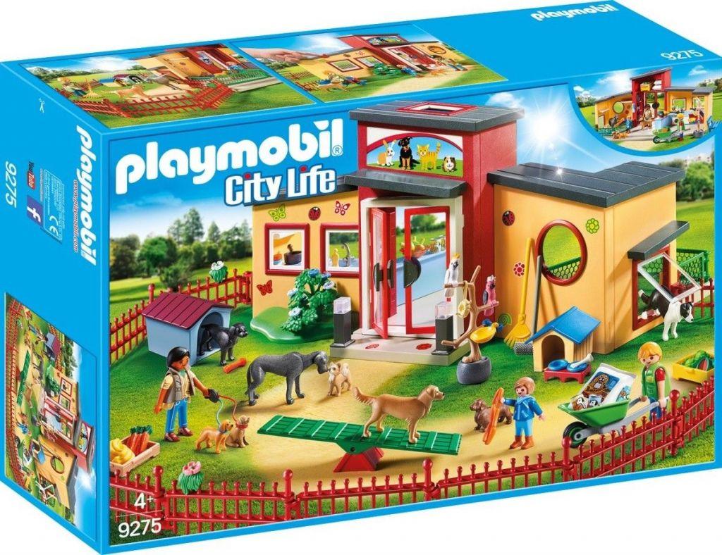 Playmobil 9275 - Hotel de mascotas - Caja