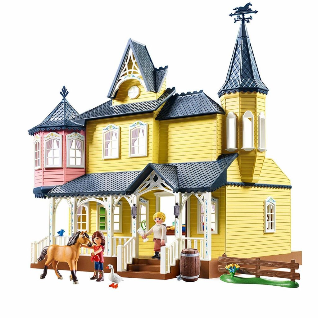 Playmobil 9475 - Lucky's Happy Home - Back