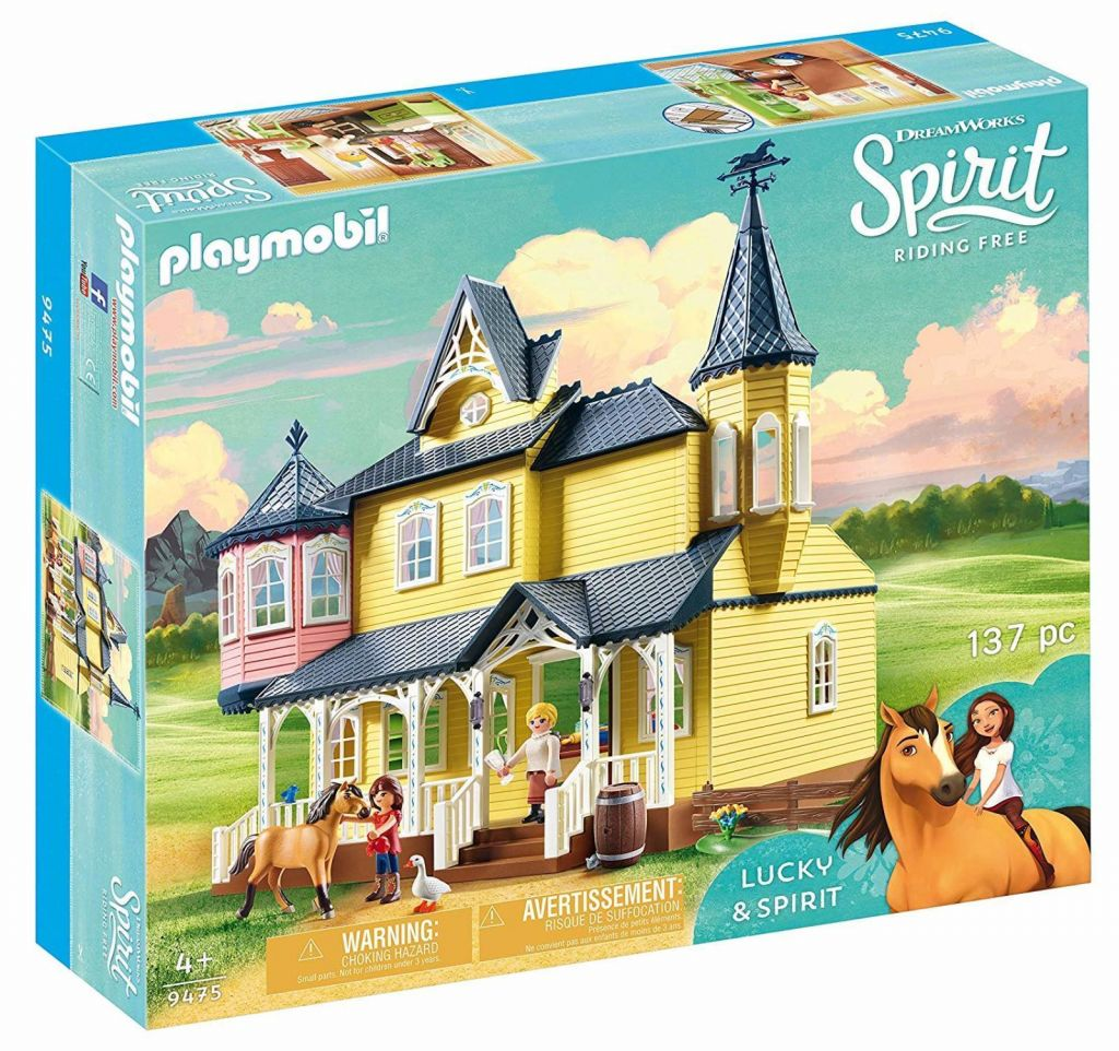 Playmobil 9475 - Lucky's Happy Home - Box