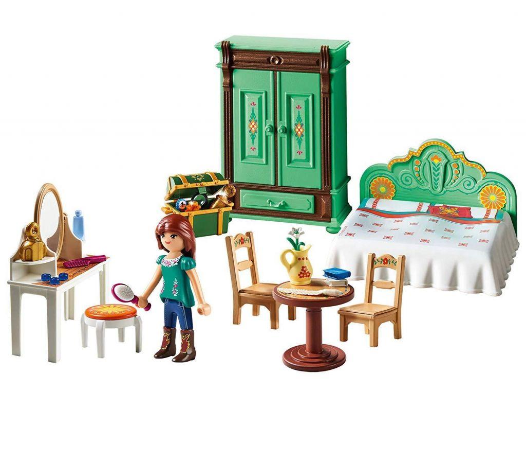 Playmobil 9476 - Lucky's Bedroom - Back