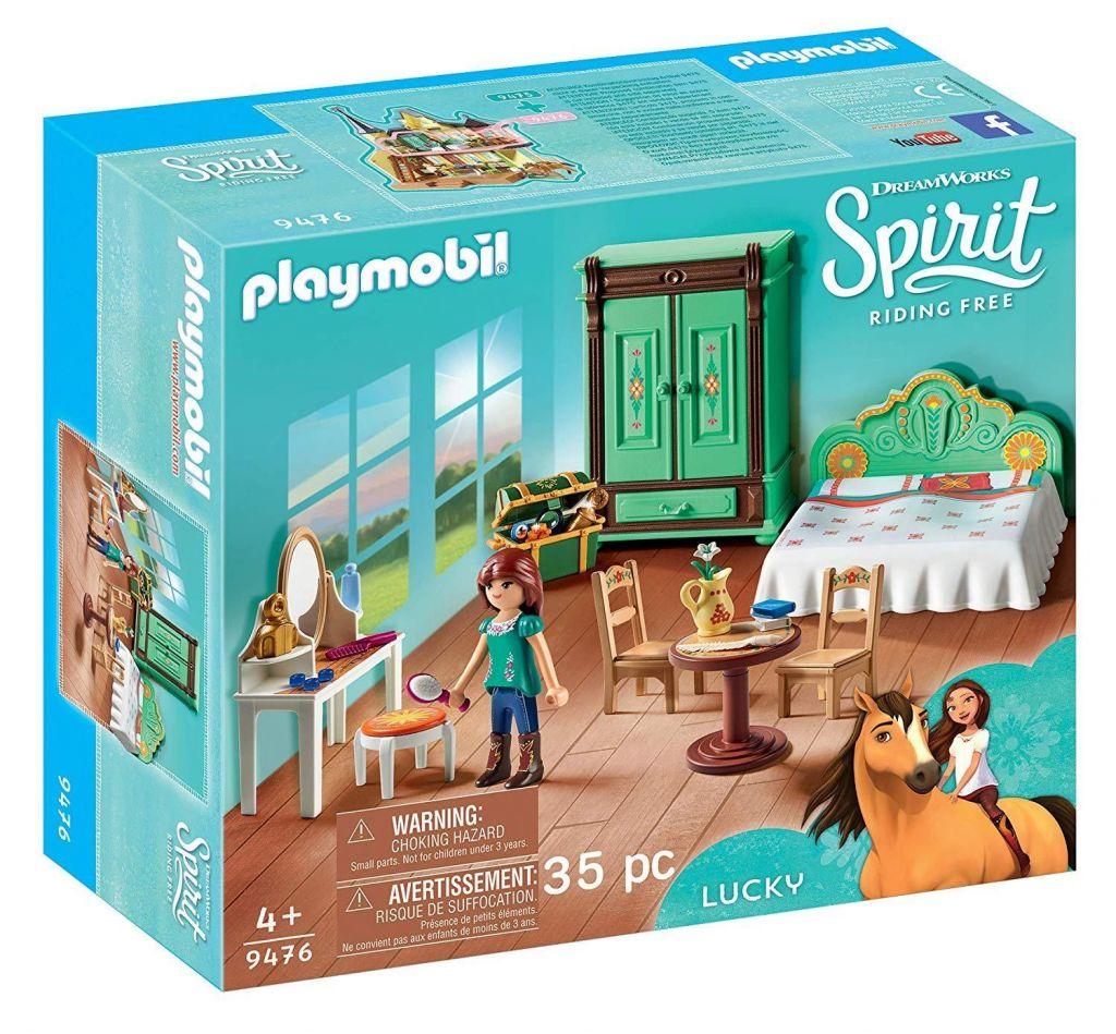 Playmobil 9476 - Lucky's Bedroom - Box